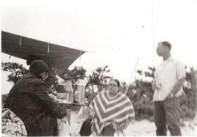 PARC-Photo-1971-Jim Richard K1QUI_Peg Richard_Earle Chaddock WA1KZT