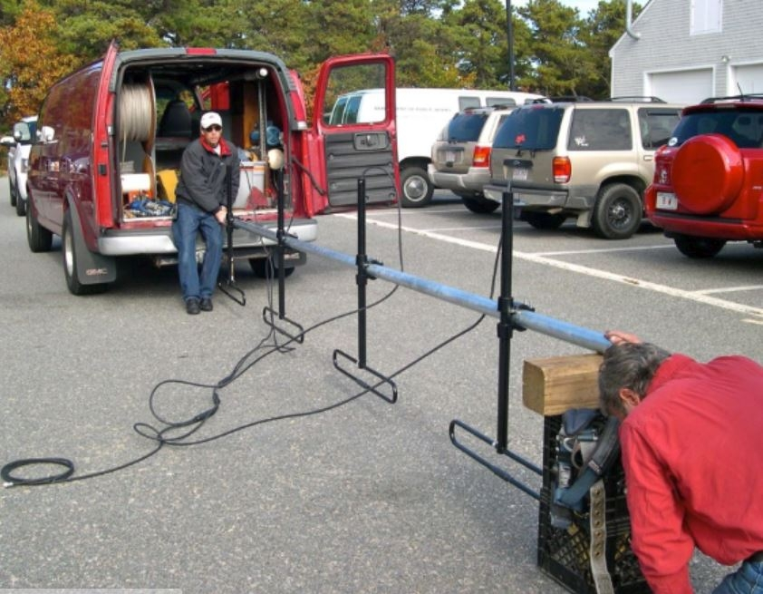 PARC-Truro Dipole Install 2012-26
