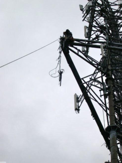 PARC-Truro Dipole Install 2012-31
